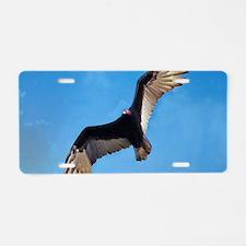 Soaring Turkey Vulture Aluminum License Plate