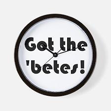 'betes Wall Clock