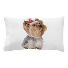 Yorkie Portrait Pillow Case