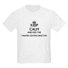 Keep calm and kiss the Theater Lighting Di T-Shirt