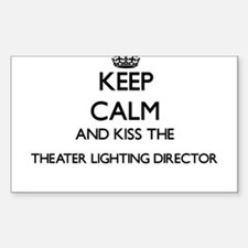 Keep calm and kiss the Theater Lighting Di Decal