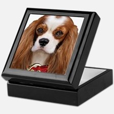 Cavalier King Charles Portrait Keepsake Box