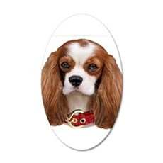 Cavalier King Charles Portra Wall Decal