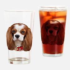 Cavalier King Charles Portrait Drinking Glass