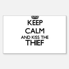 Keep calm and kiss the Thief Decal