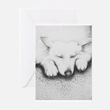 Sleeping Lily Greeting Cards