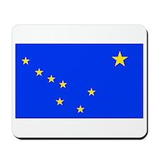 Alaska State Flag Mousepad