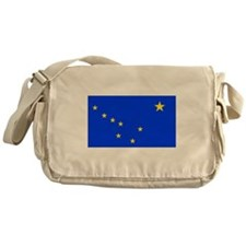 Alaska State Flag Messenger Bag