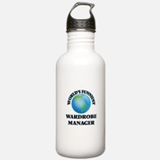 World's Funniest Wardr Water Bottle