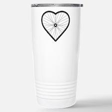 Love Mountain Biking Travel Mug