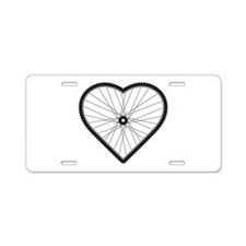 Love Mountain Biking Aluminum License Plate