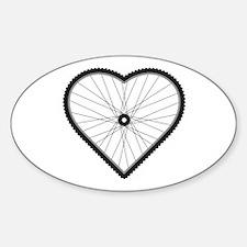 Love Mountain Biking Decal