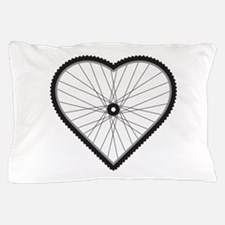 Love Mountain Biking Pillow Case