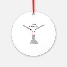 Love Chemistry Ornament (Round)