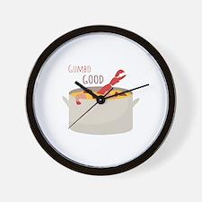 Gumbo Good Wall Clock