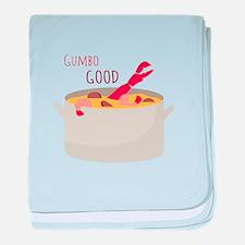 Gumbo Good baby blanket