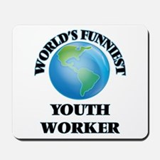 World's Funniest Youth Worker Mousepad