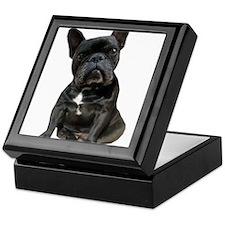French Bulldog Puppy Portrait Keepsake Box