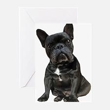 French Bulldog Puppy Por Greeting Cards (Pk of 10)