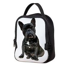 French Bulldog Puppy Portrait Neoprene Lunch Bag