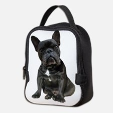 French Bulldog Puppy Portrait Neoprene Lunch Bag