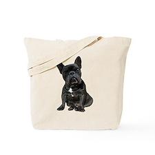 French Bulldog Puppy Portrait Tote Bag