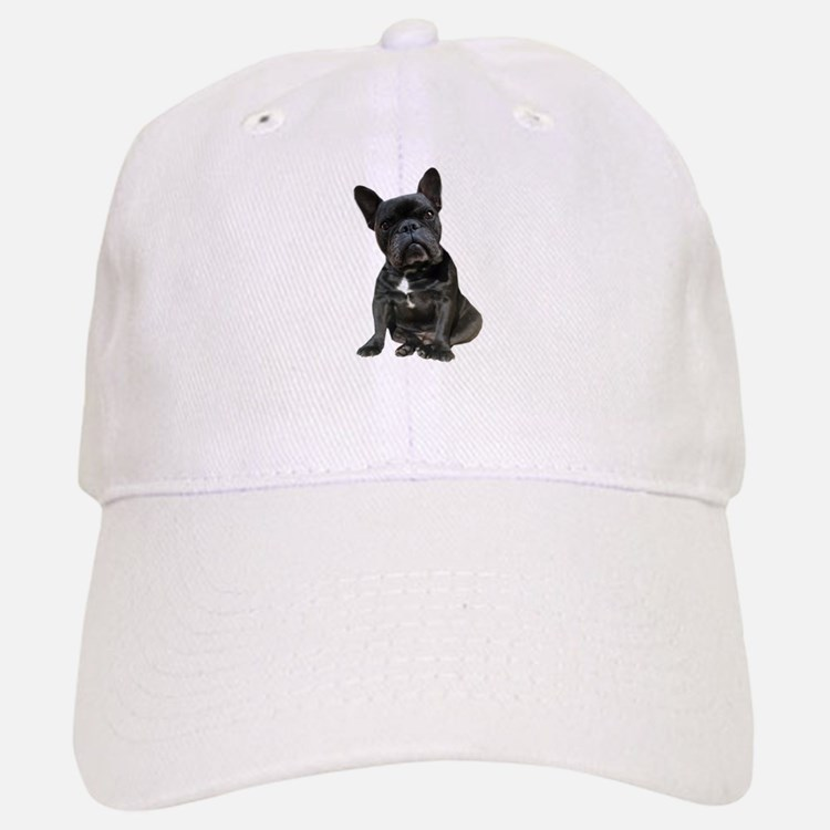 French Bulldog Puppy Portrait Baseball Baseball Cap