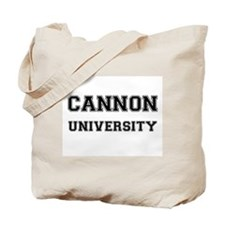 CANNON UNIVERSITY Tote Bag
