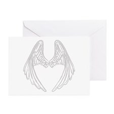 Unique Angel wings Greeting Cards (Pk of 10)