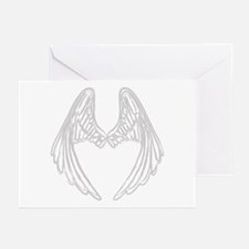 Cool Angel wings Greeting Cards (Pk of 10)