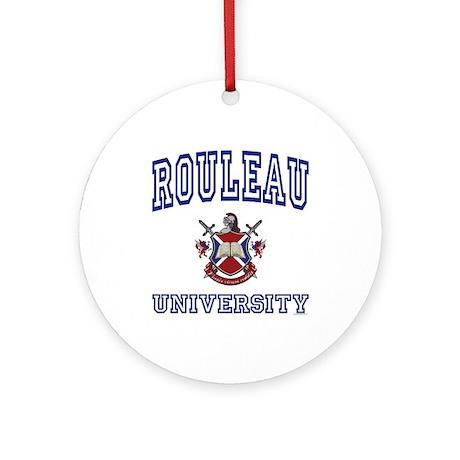 ROULEAU University Ornament (Round)