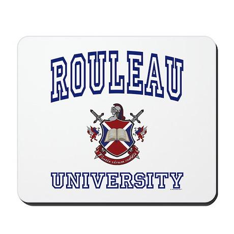 ROULEAU University Mousepad