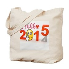 Welcome 2015 Tote Bag