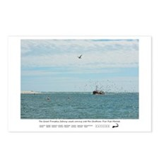 Chatham Pier Fish Market. Postcards (Package of 8)
