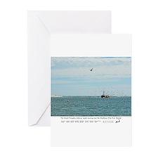 Chatham Pier Fish Market Greeting Cards (Pk of 10)