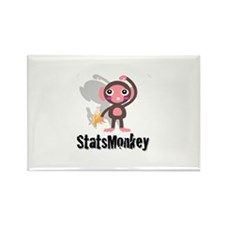 Cute Stats Rectangle Magnet
