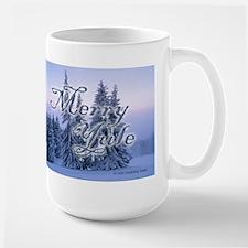 Merry Yule Large Mug