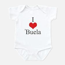 I Love (Heart) 'Buela Infant Bodysuit