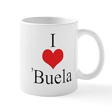 I Love (Heart) 'Buela Mug