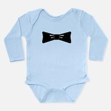 Bowtie Long Sleeve Infant Bodysuit