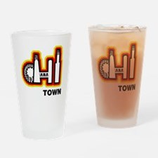 Chi Town Sports Teams Drinking Glass