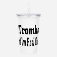trombone33.png Acrylic Double-wall Tumbler