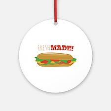 Fresh Made Ornament (Round)