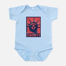 Liberty [Red&Blue] Infant Bodysuit