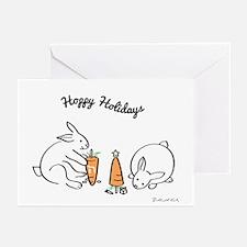 Hoppy Holidays Greeting Cards