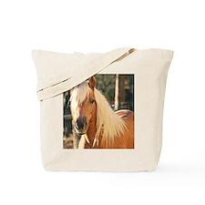 Funny Haflinger ponies Tote Bag