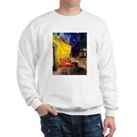 Cafe & Dachshund Sweatshirt
