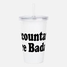 accountant6.png Acrylic Double-wall Tumbler