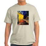 Cafe & Dachshund Light T-Shirt