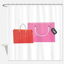 Shop Bags Shower Curtain